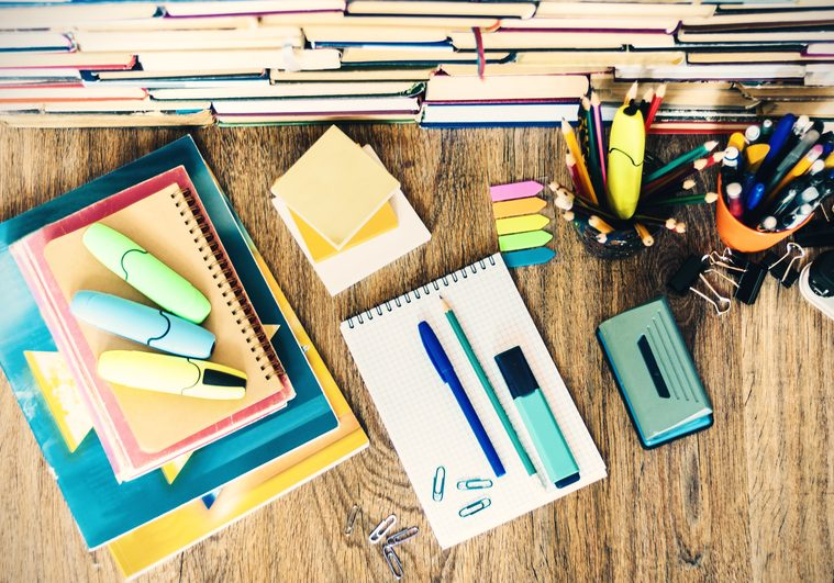 School stationery accessories