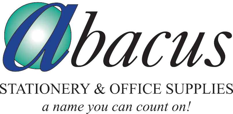 Abacus stationary and office supplies logo